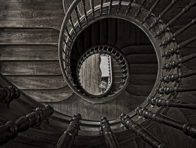 Spiral Staircase  June 2012