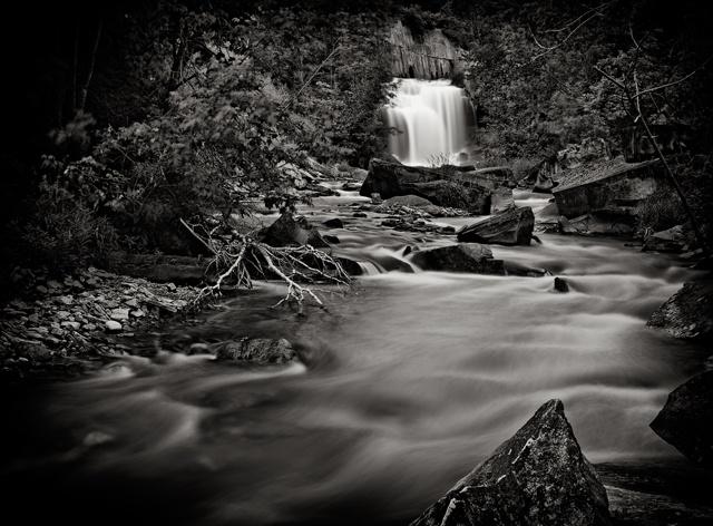 Cataract Falls from Below  May 2012