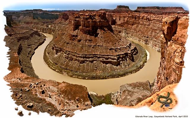 Colorado River Loop  Canyonlands National Park, UT  Apr 2010