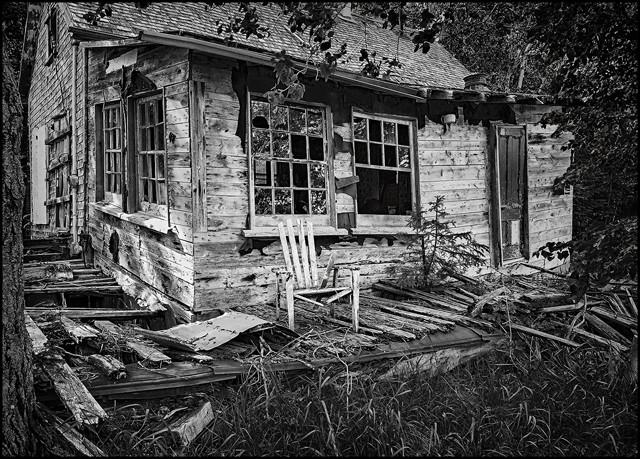 Backwoods Shack  June 2014