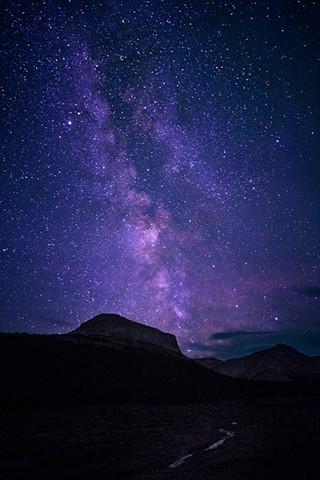 Milky Way at Jacknife Pass