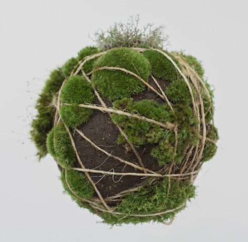 Tama, Bonsai, Gardening, Clay, Sculpture, Kokedama, Christopher Lin, Sculpture, Studio, Art