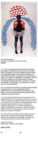 Beaubienne Baptiste Cries Over Fracking in Brazil