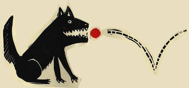 Hund und Balle