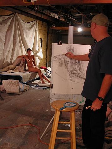 Studio Drawing session
