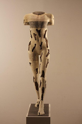 Female sculpture by Dan Corbin to be exhibited at SF ART Expo in May 2013