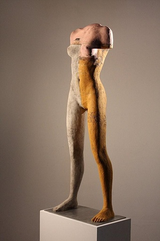 Female sculpture by Dan Corbin available in Palm Desert Calif.