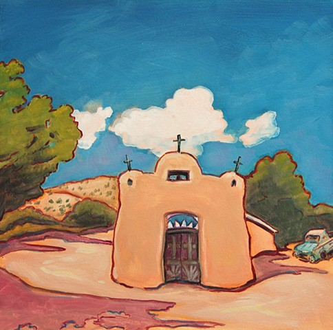 Talpa Church outside of Rancho de Taos, New Mexico