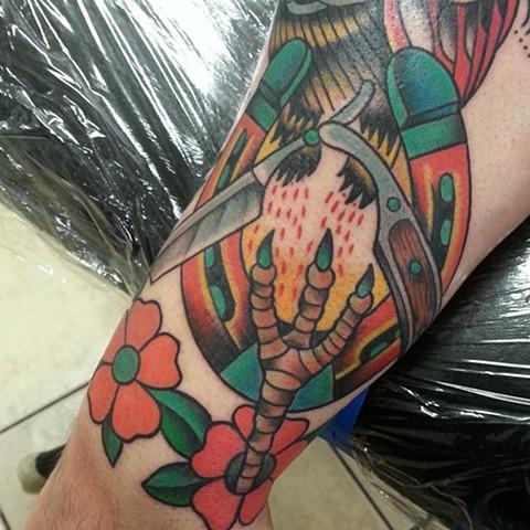 Bird sleeve #2
