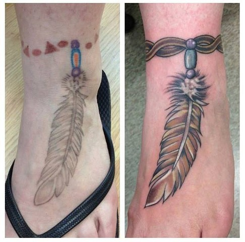 Feather Anklet Rework