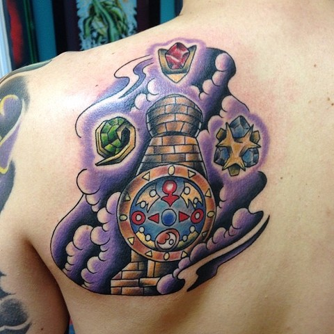 Legend of Zelda, Majora's Mask Clock Tower