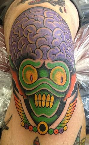 alien knee
