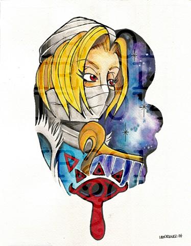 Sheik Watercolor