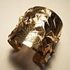 Pulsera de Hojas Leaf Cuff Bracelet