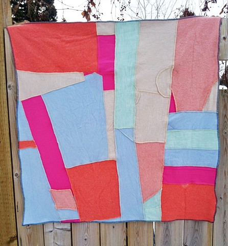 Recycled Patchwork Quilt
