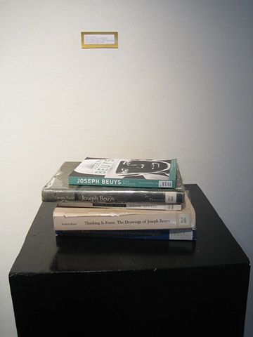 Girls on Beuys: Five books edited by women about Joseph Beuys, in which 21 out of 37, or 57% of the essays are written by women.