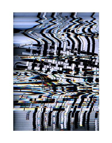 Glitch Barcode Weave I