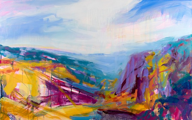 Landscape Oil Painting, Oil Painting