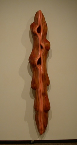 wood sculpture, sculpture