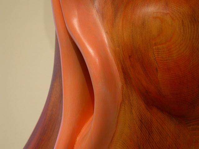 wood sculpture, sculpture