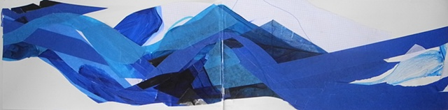 Page Detail, Blue Glue and Other Explorations