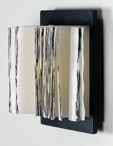 encaustic, sculpture, paper sculpture, encaustic sculpture, Shelley Gilchrist