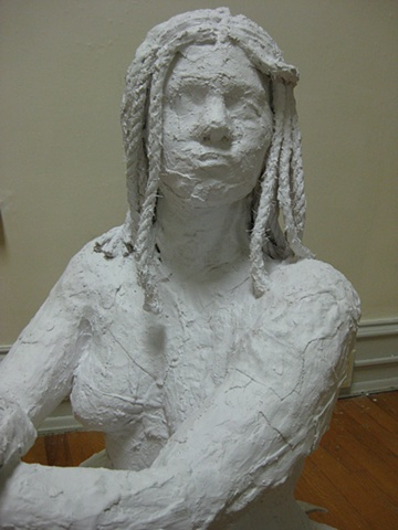 The Mermaid is a work done in the style of George Segal.