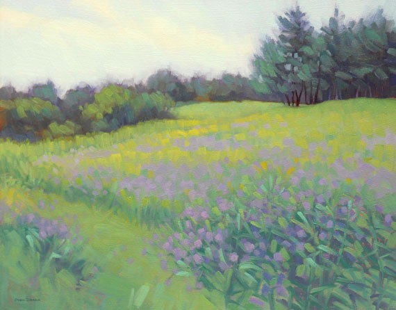 Wildflowers in the Meadow (click to enlarge) Available at Yarmouth Frame and Gallery