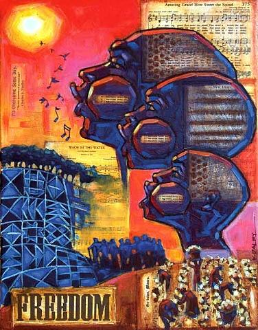 soul, black art, slavery, freedom, spiritual, songs,