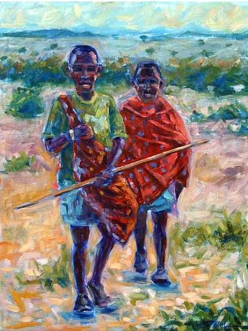 Maasai Shepherds