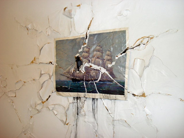 Shipwreck (site-specific for Arte Portugale 2010 in Lisbon)