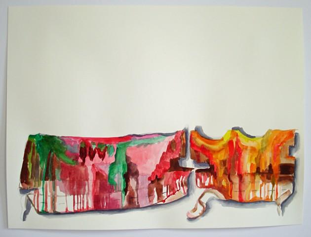 Canvas Drip Fragments