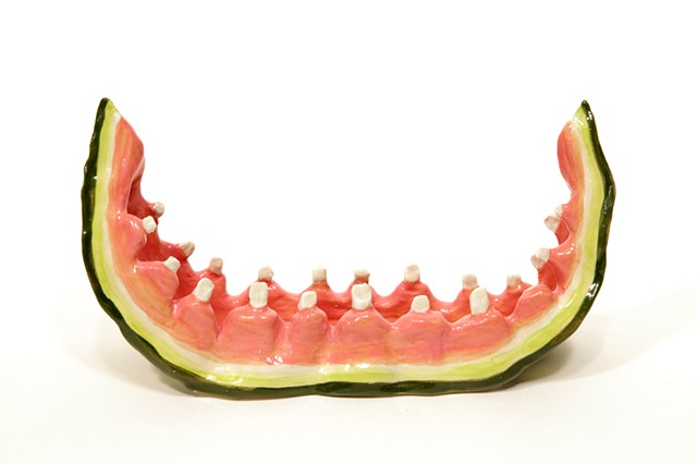 Watermelon Rind with Teeth 1