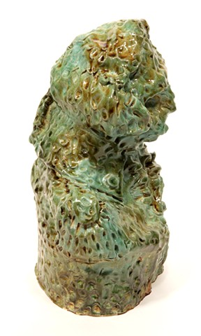 George Washington Bust as a Topiary (small) (side)