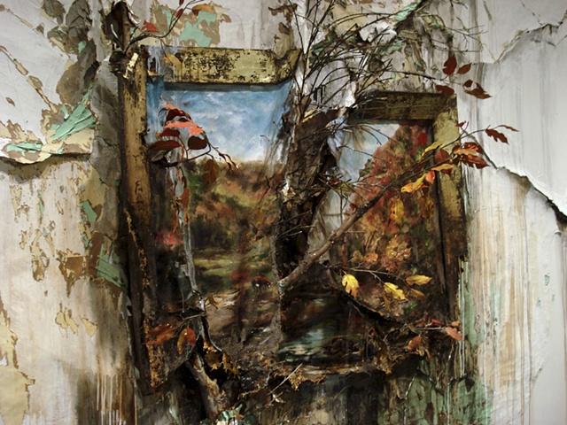 Autumn on the Wissahickon with Tree