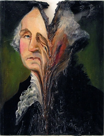 George Washington Melted 2