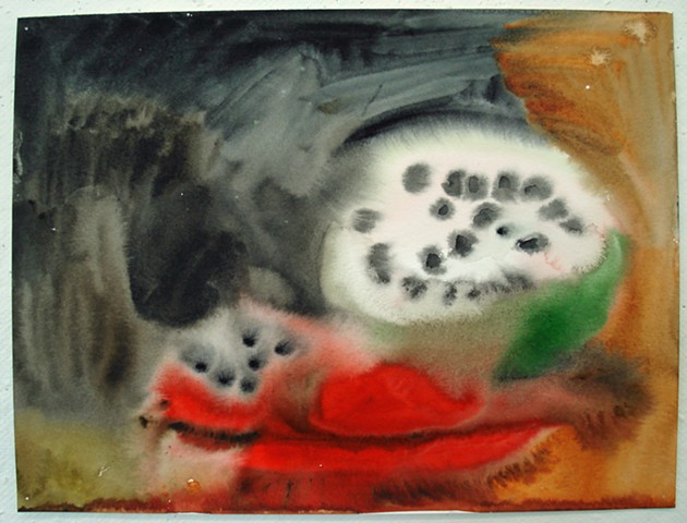 Watermelon Skull 4