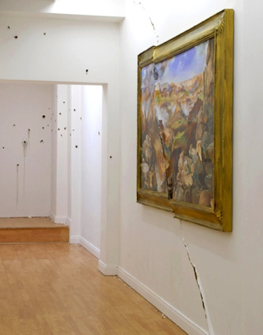 View from Thanatopsis: Installation View
