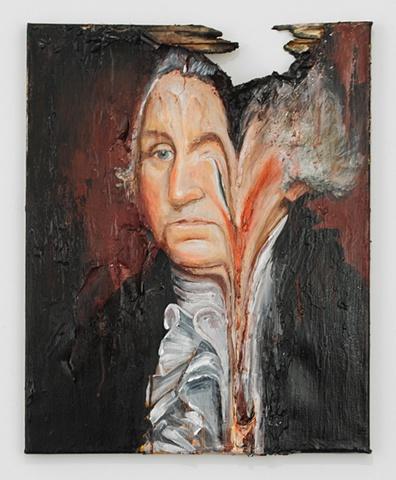 Melted George Washington 3
