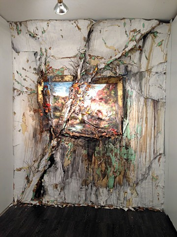Autumn on the Wissahickon with Tree, 2010 (reinstalled 2015)