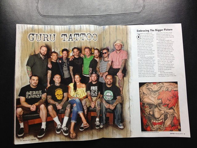 Tattoo Magazine Group Shot