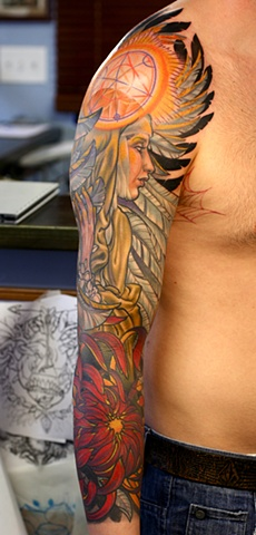 COLOR Eric Cooper San Diego Tattoo Denver Colorado art, Hawaii art, guru.
