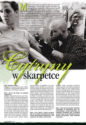 Tattoo Magazine  Superstition