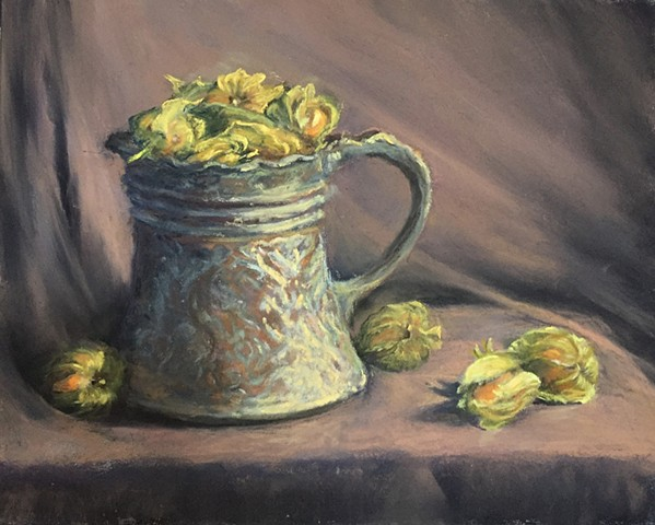 Gooseberries in Copper Mug