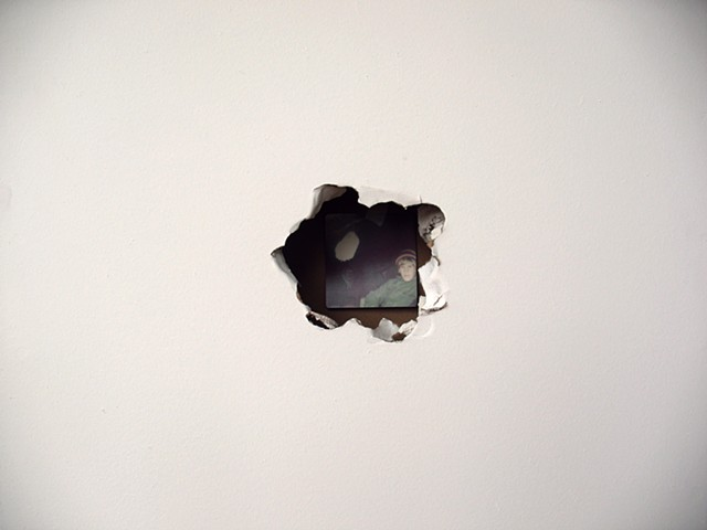 Untitled (Hole), detail