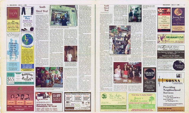 South Street West Advertorial