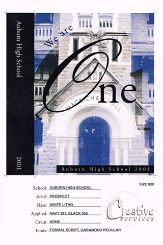 """One"" (Litho Book Cover)"