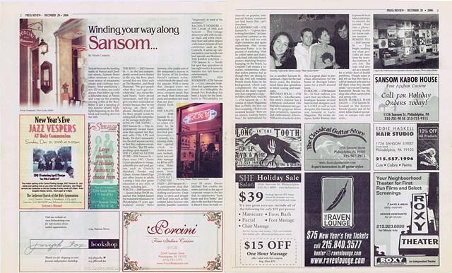 Sansom Street Advertorial