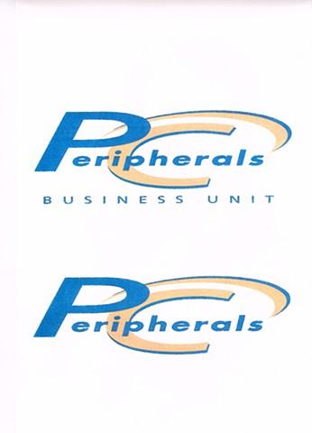 PC Peripherals Business Division Logo Design