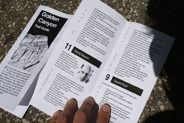 Goldwell Residency Golden Canyon Hike Conversations Brochure